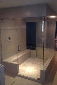 Utah Glass European Shower Door