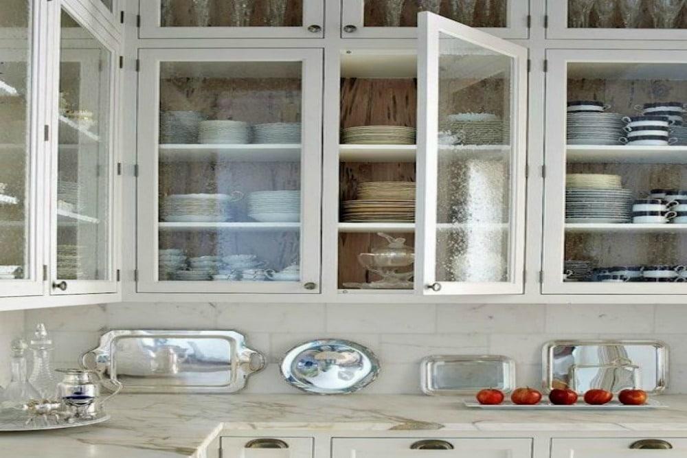 Add Custom Glass Cabinet Doors, Kitchen Cabinet Glass Door Options