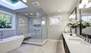 Glass-Doors-Vs-Shower-Curtain-For-Your-Bathroom
